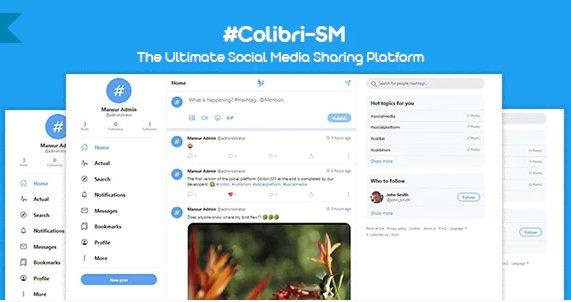 ColibriSM - The Ultimate PHP Modern Social Media Sharing Platform v1.0.8 Nulled