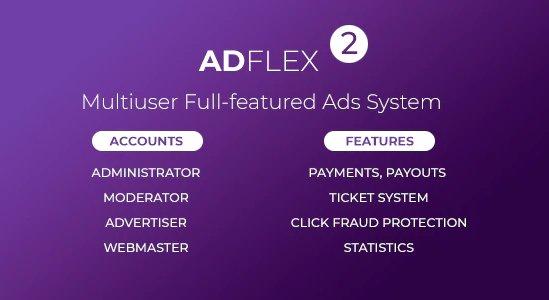 AdFlex - Multi User Full-featured Ads System v2.0.7