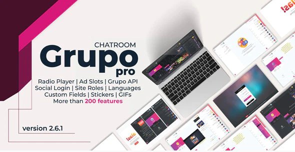 Grupo Chat Pro - Chat room & Private Chat v2.6.1