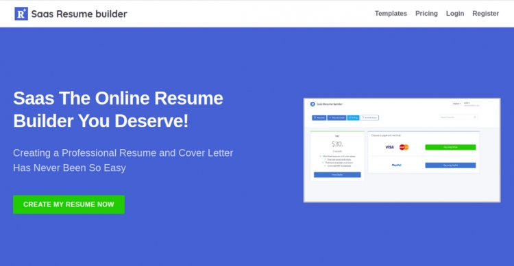 ResumeFaGo - Saas Resume and CV buider v1.2 Nulled