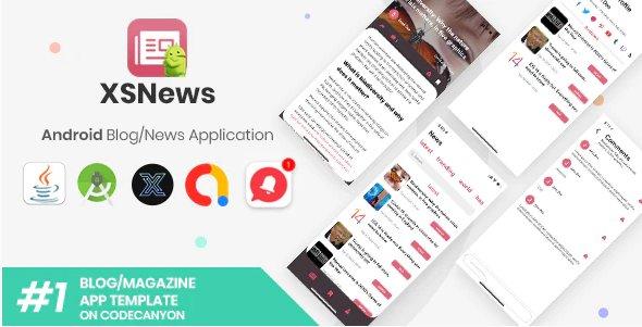 XSNews Android News/Blog Multipurpose Application v1.0
