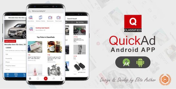 Quickad - Classified Native Android App v1.6