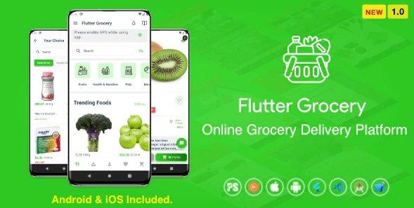 Flutter Multi Vendor Grocery v1.0