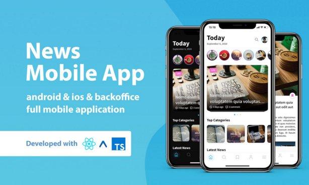 News Mobile Application with Admin Panel v1.0