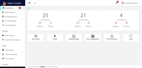 Smart Courier and Logistic Management Application v1.0 Nulled