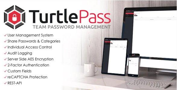 TurtlePass - Team Password Manager v1.4