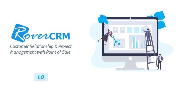 RoverCRM - Customer Relationship And Project Management System v1.0