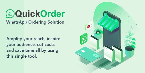 QuickOrder - WhatsApp Ordering Addon v1.0