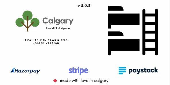 Calgary Hostel Management System - SAAS & Self Hosted v3.0.1 Nulled