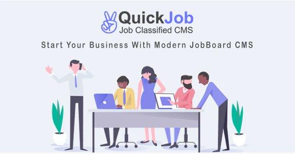 QuickJob - Job Board Job Portal PHP Script v6.1