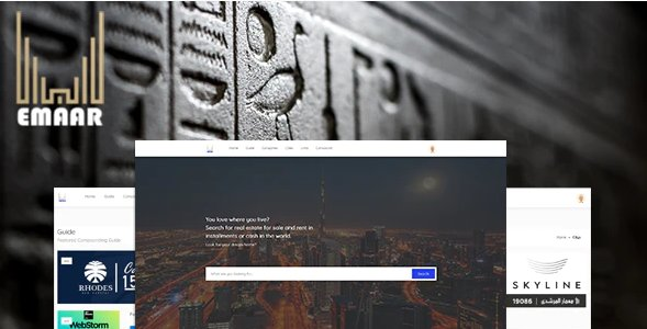 Emaar – Real Estate Agency Directory System Nulled