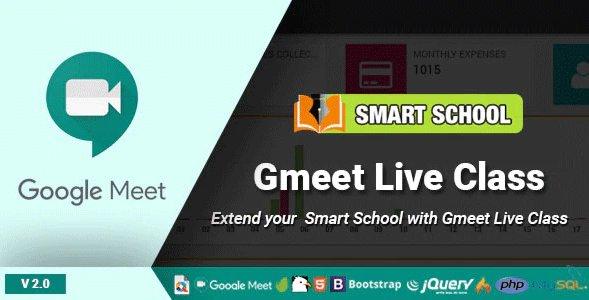 Smart School Gmeet Live Class v3.0