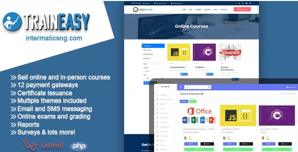 TrainEasy LMS - Training & Learning Management System v3.6.1