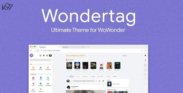 Wondertag - The Ultimate WoWonder Theme v2.2.1