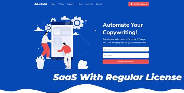 CyberBukit Automatic Writing - SaaS Ready v1.1.3 Nulled