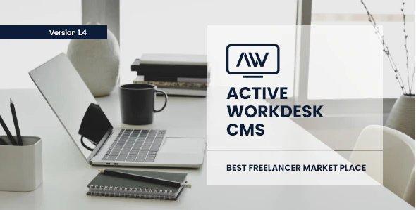 Active Workdesk CMS v1.4 Nulled