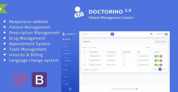 Doctorino - Doctor Chamber Management System v1.0 Nulled