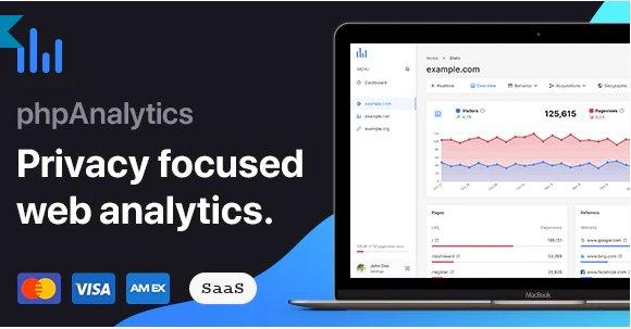phpAnalytics - Web Analytics Platform v2.4.0 Nulled
