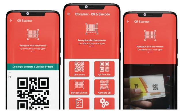 QScanner - QR & Barcode Pro v1.3 Nulled