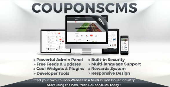 Coupons CMS 7.10 Nulled