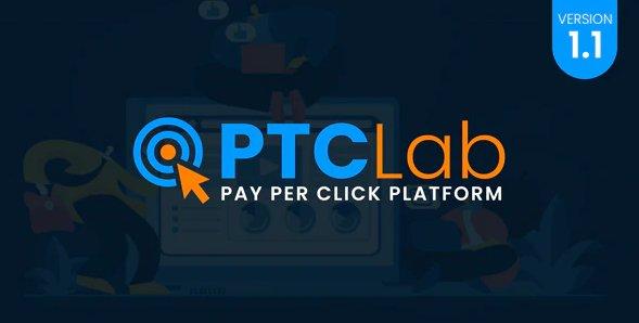 ptcLAB - Pay Per Click Platform v1.1 Nulled