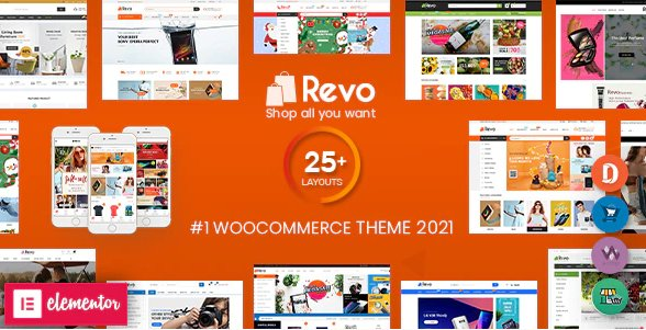 Revo - Multipurpose Elementor WooCommerce WordPress Theme v4.0.3 Nulled