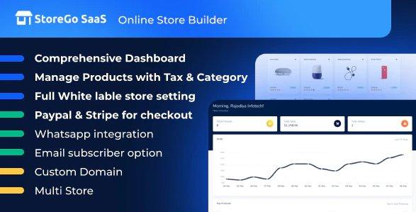 StoreGo SaaS - Online Store Builder v1.6.0