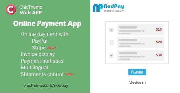 NodPay - Online Payment App v1.1 Nulled