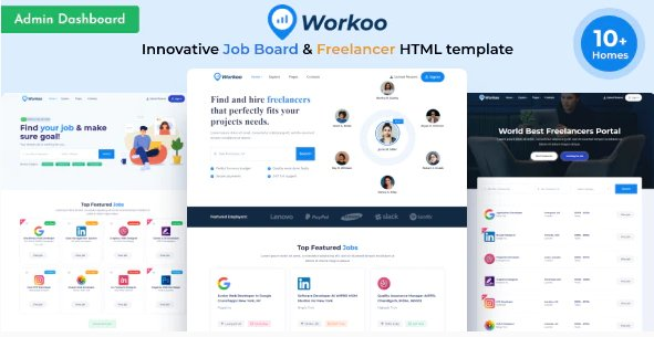 Job Board & Freelancer Marketplace HTML Template Nulled