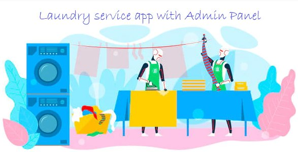Laundry Services - Online laundry service android app v1.0 Nulled
