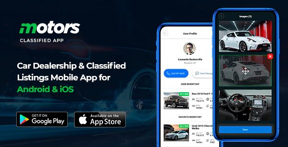 Motors - Car Dealership & Classified Listings Mobile App for Android & iOS v1.2