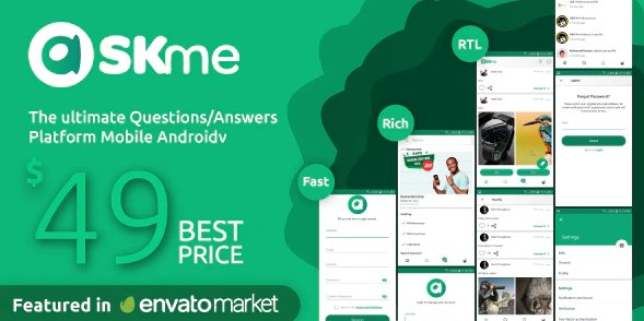 AskMe Android- Mobile Questions & Answers Social Network Application v1.0.1 free
