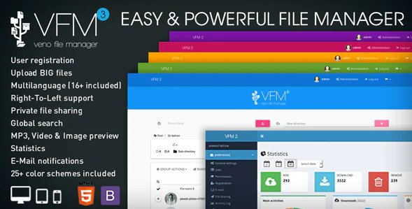 Veno File Manager - host and share files v3.7.5 Nulled