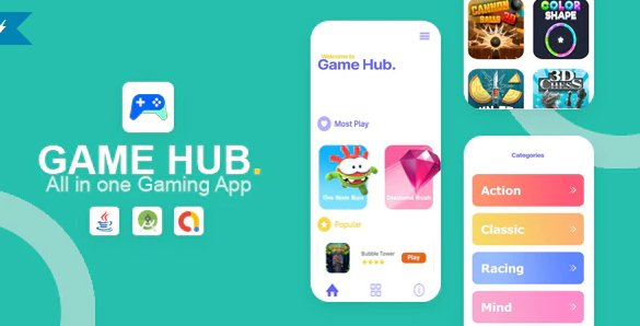 Game Hub - All in one game app v1.0
