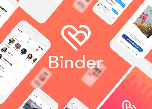 Binder - Dating clone App with admin panel - iOS v13.5