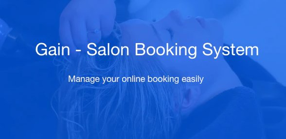 Gain - Salon Booking System v1.4 Nulled