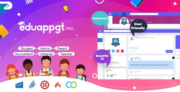 EduAppGT Pro - School Management System v9.1 Nulled
