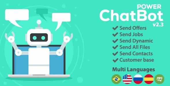 Power ChatBot - Auto Attendant v2.3.0 Nulled