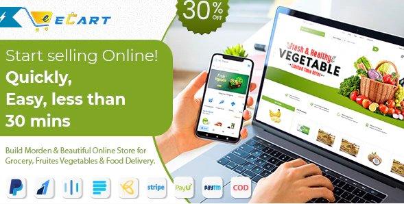 eCart Web - Ecommerce / Store Full Website v3.0.0 Nulled