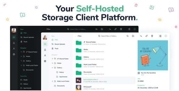 Vue File Manager - Store, Share & Get Files Instantly - Private Cloud Build on Vue & Laravel v1.8.3.11 Nulled