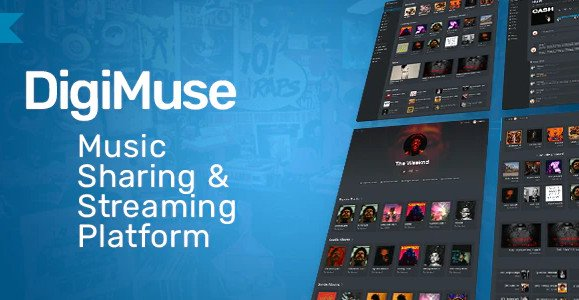 DigiMuse - Music Streaming Platform v1.11 Nulled