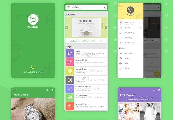 Markeet - Ecommerce Android App 4.0 nulled
