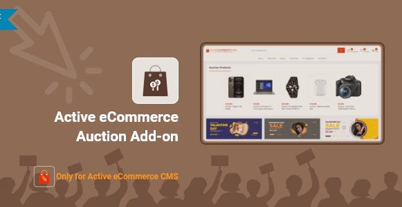 Active eCommerce Auction Add-on v1.0 Nulled