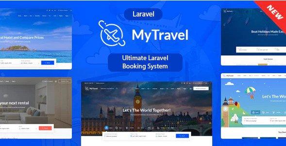 MyTravel - Ultimate Laravel Booking System v1.0.0 Nulled