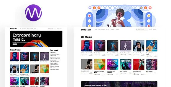 MUSICO - Premium Music Download System with Website Nulled