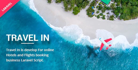 Travelin - Hotel & Air Tickets Booking Laravel Script Nulled