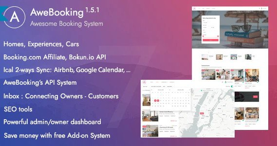 AweBooking - Online Booking System - Bokun.io API supported v1.5.1 Nulled