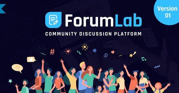 ForumLab - Community Discussion Platform v1.0 Nulled