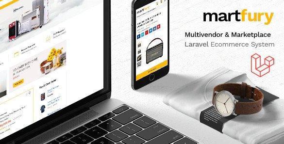 MartFury - Multivendor / Marketplace Laravel eCommerce System v1.12 Nulled