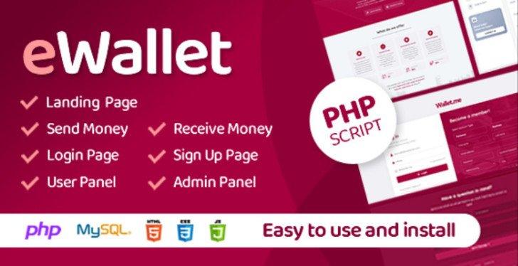 eWallet - PHP Script v3.0 Nulled